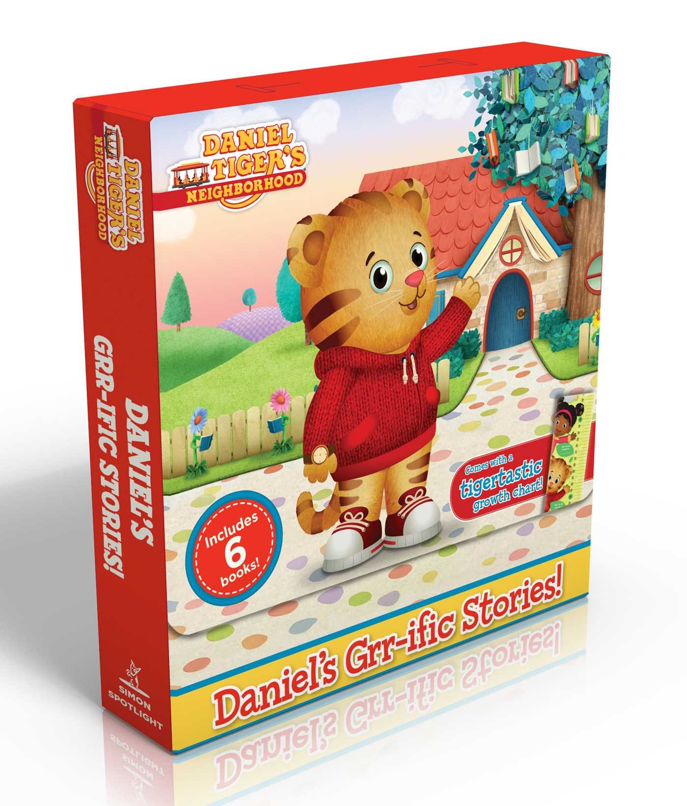 Daniel's Grr-ific Stories! (Comes with a tigertastic growth chart!): Welcome to the Neighborhood!; Daniel Goes to School; Goodnight, Daniel Tiger; ... Baby Is Here! (Daniel Tiger's Neighborhood)