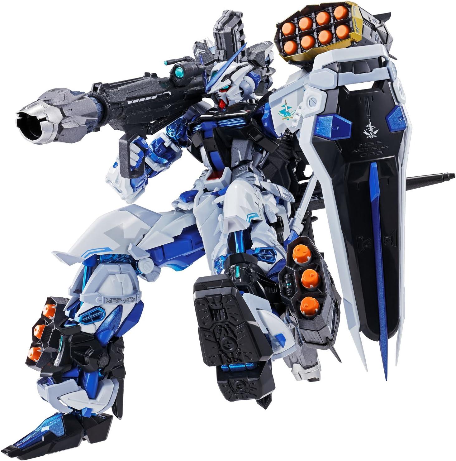 Bandai Tamashii Nations Metal Build Astray Marco Azul Gundam Seed Astray Conjunto de Armas