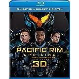 Pacific Rim Uprising [Blu-ray 3D + Blu-ray + Digital] (Bilingual)