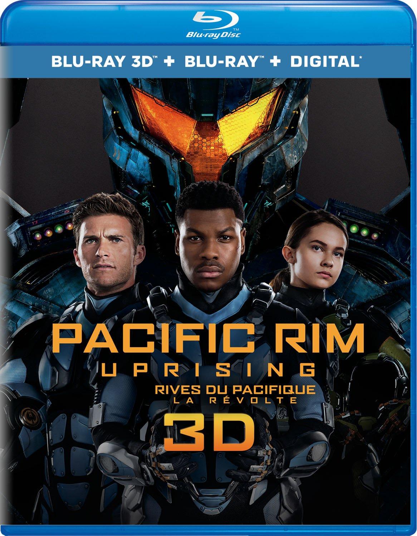 Pacific Rim Uprising [Blu-ray 3D + Blu-ray + Digital] (Bilingual) John Boyega Scott Eastwood Charlie Day