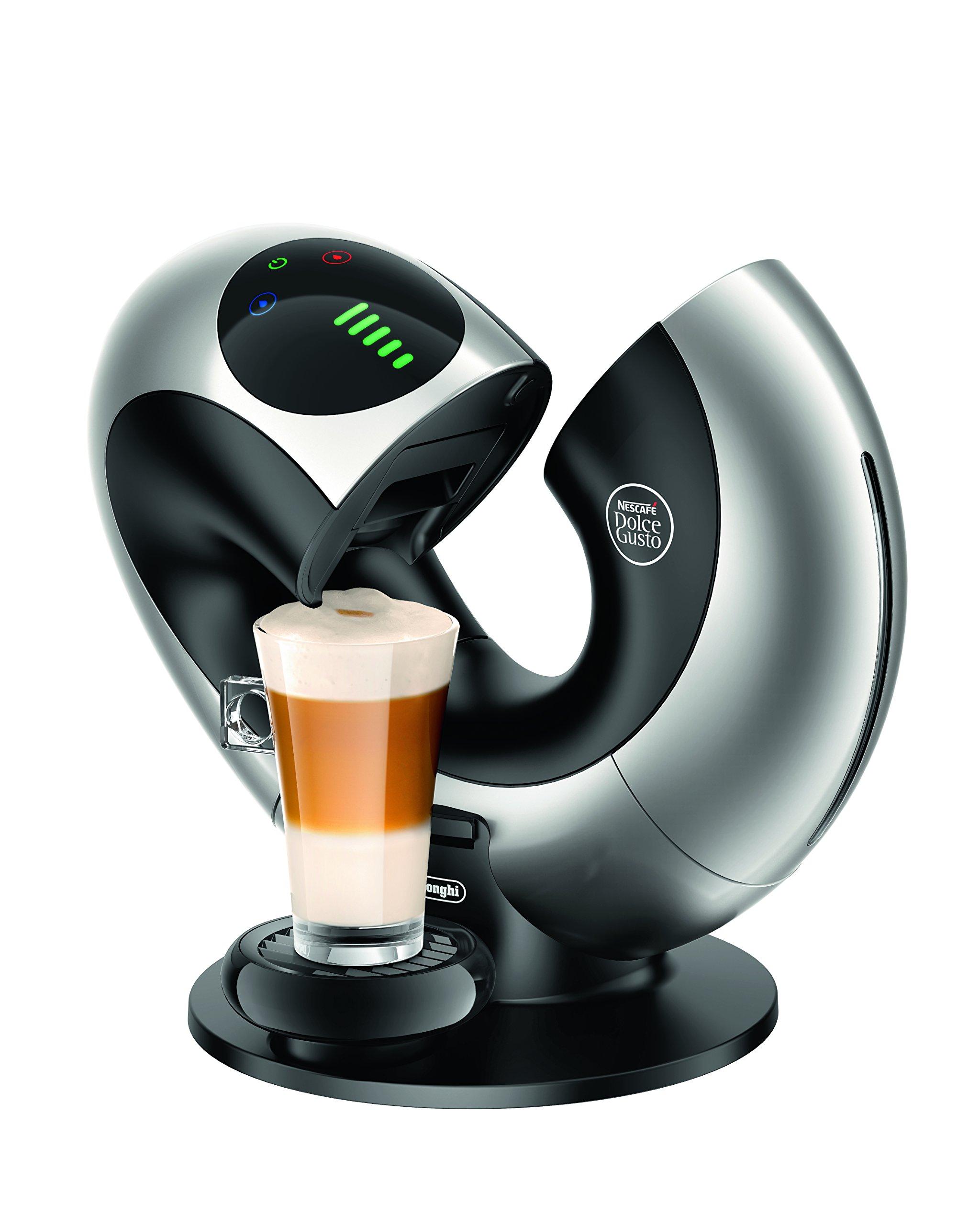 De'Longhi Nescafé Dolce Gusto Eclipse Touch, Single Serve Capsule Coffee Machine, EDG736S, Silver