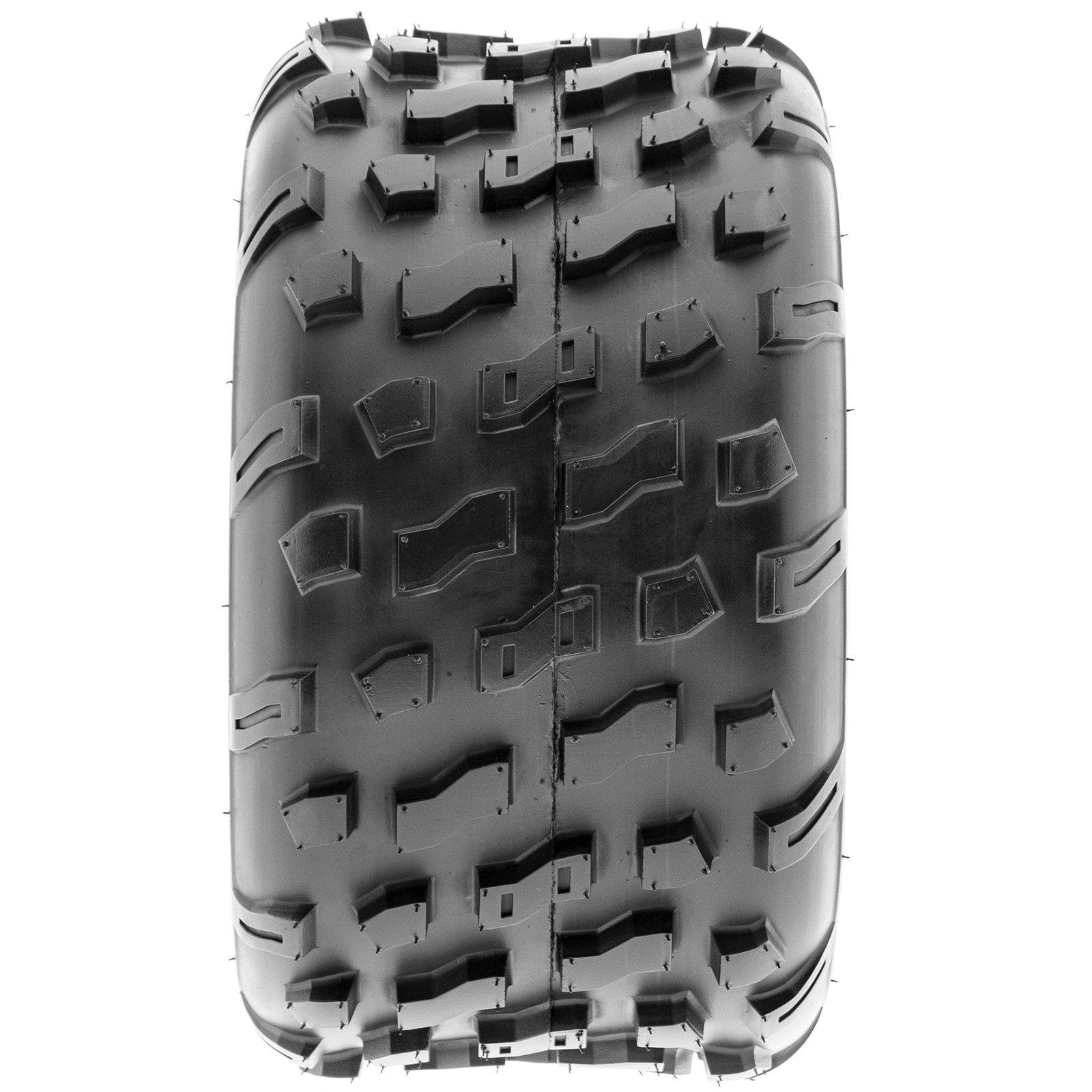 SunF Rear ATV Knobby Tires 20x10-9 20x10x9 4 PR A022 (Set pair of 2) by SunF (Image #8)