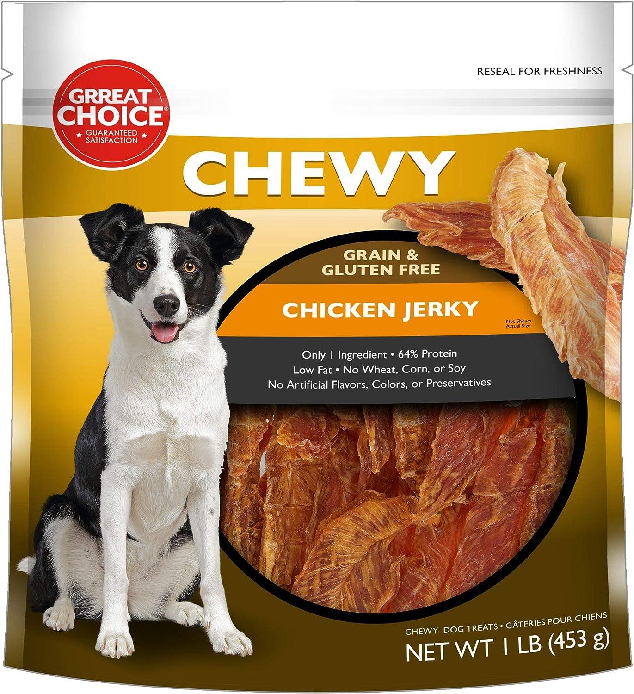 Chewy Grain & Gluten Free Chicken Jerky