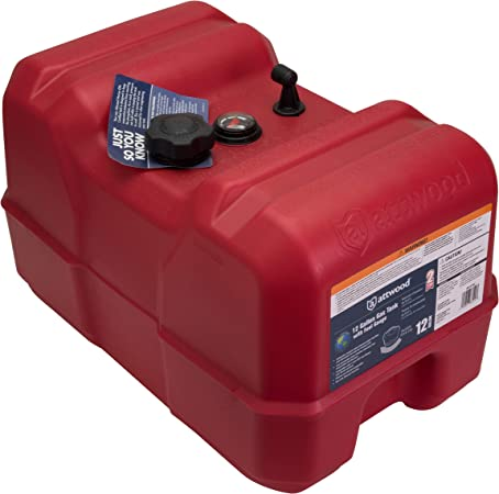Attwood EPA and CARB Certified Portable Marine Boat Fuel Tank