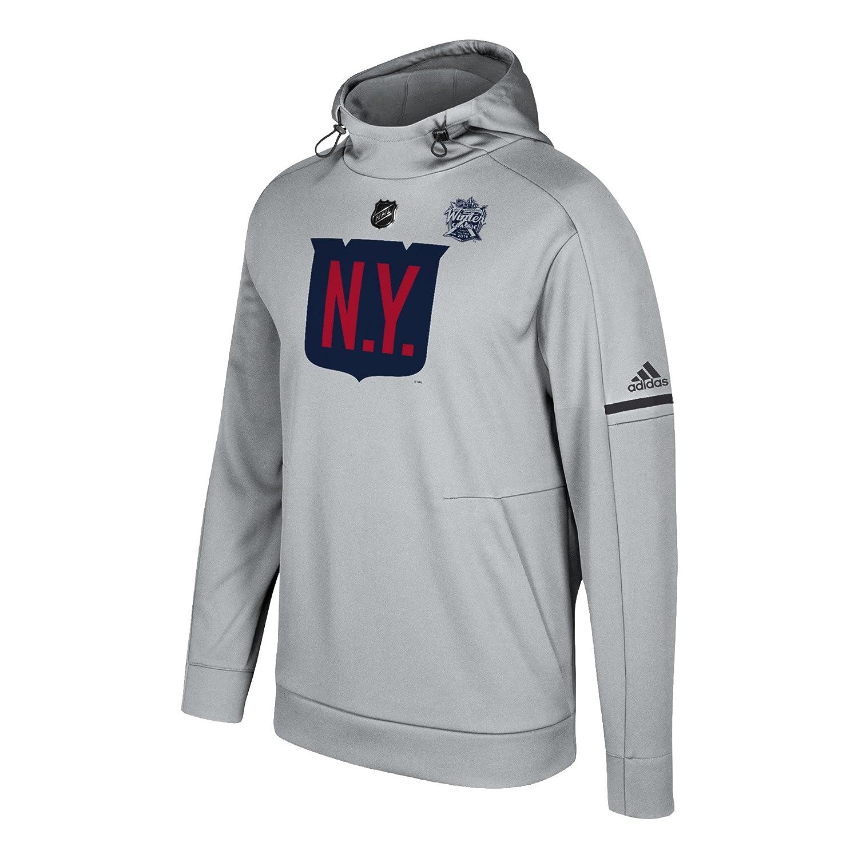 Amazon.com   adidas NHL New York Rangers Mens NHL Winter Classic Logo Pro  Player Hoodnhl Winter Classic Logo Pro Player Hood a212834a2