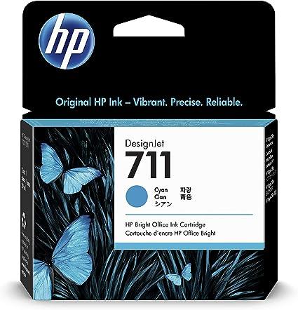 HP CZ130A 711 Cartucho de Tinta Original, 1 unidad, cian: Hp ...