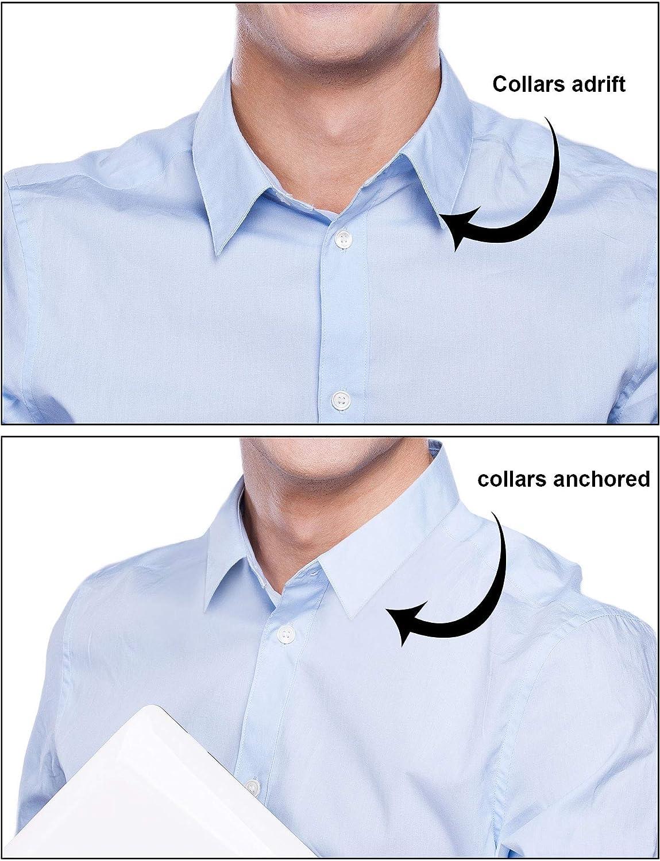 DEZHI 600 Piezas de Ballenas de Cuello de Camisa de Plástico para Camisas de Hombres, 6 Tamaños Mixtos (Transparente): Amazon.es: Hogar