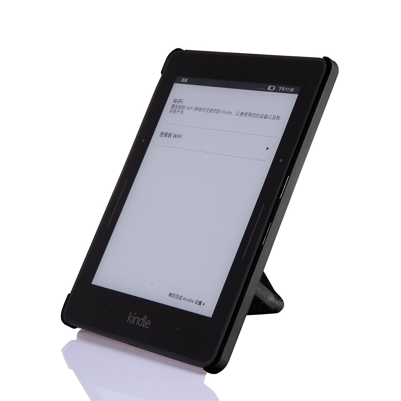 NOUSKE Funda Origami para Kindle Voyage de Amazon, Negro š®Nix ...