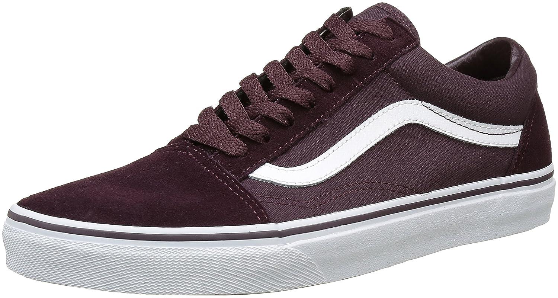 Vans Unisex Old Skool Classic Skate Shoes B01NAJ3LM8 9.5 M US Women / 8 M US Men|Iron Brown/True White