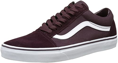 55d2aa01191 Vans Unisex Old Skool Leather Sneakers  Buy Online at Low Prices in India -  Amazon.in