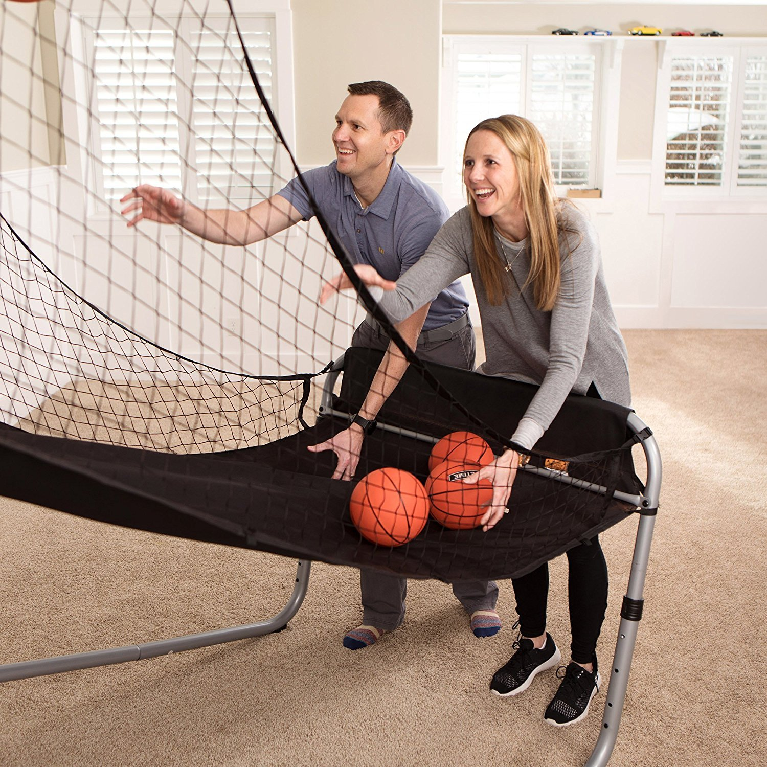 Sportcraft SIR00733 Quick Set-Up Basketball Arcade 8 Game Modes, 2-Players, Setup Less Than 10 Mins, No Tools Required, Heavy Duty 1'' Steel Tube by Sportcraft (Image #9)