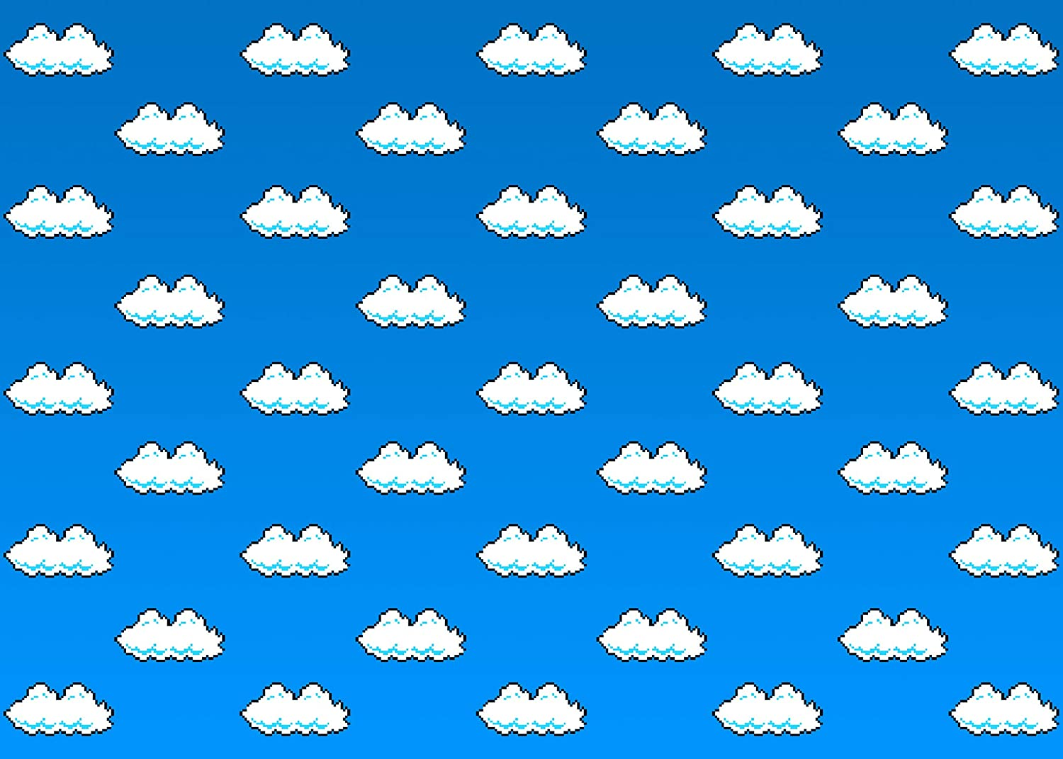 Amazon Com Gesen Super Mario Bros Backdrop For Party 10x7ft Blue Sky White Clouds Photo Background For Children Birthday Themed Party Photo Booth Screen