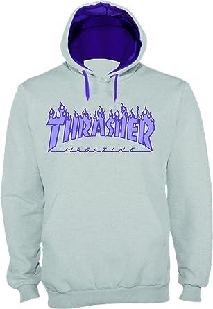 NADA Sudadera Replica Logo Thrasher (XS)