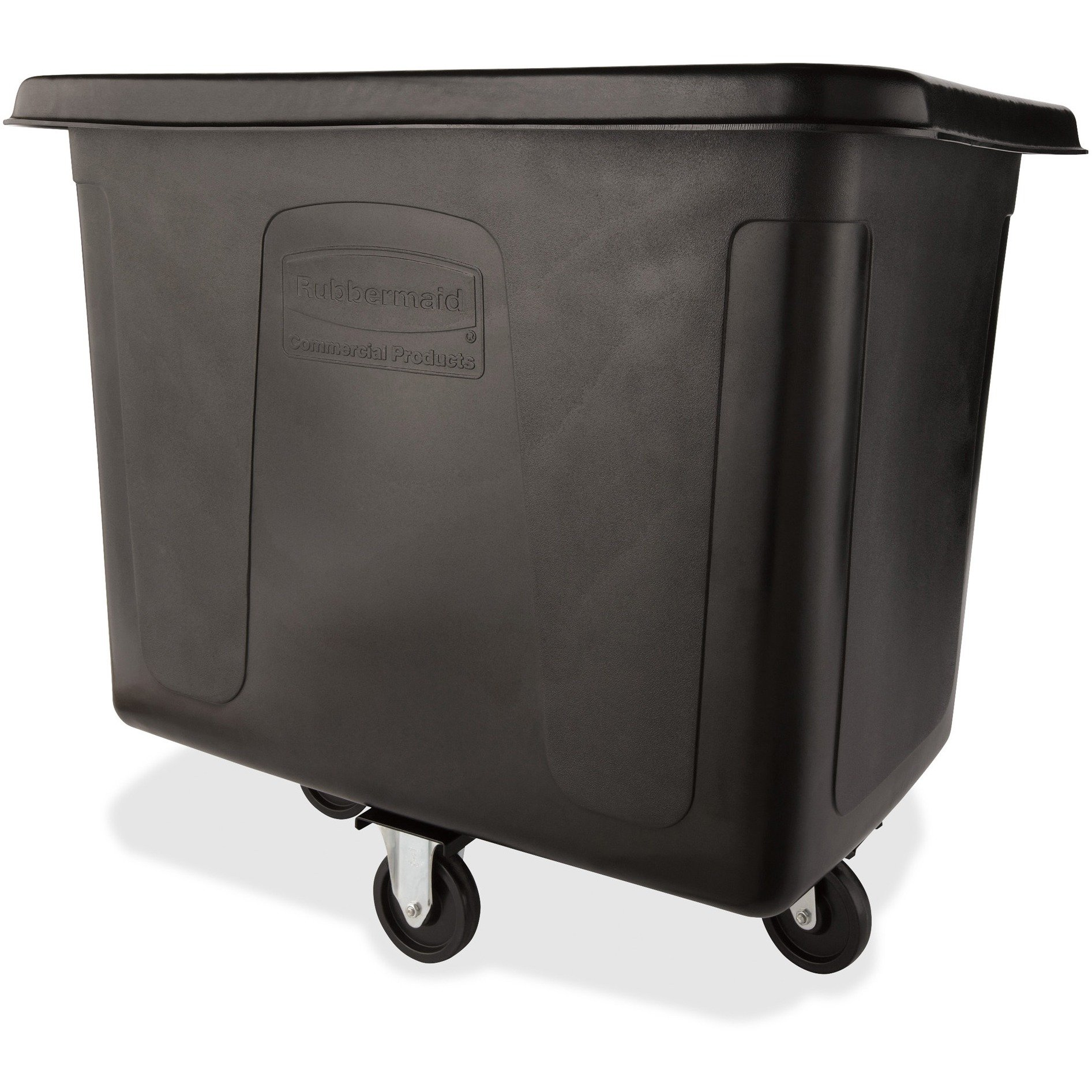 RCP4616BLA - Cube Truck, Rectangular, 500-lb. Cap., Black by Rubbermaid (Image #1)