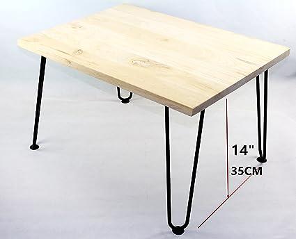 Black Hairpin Metal Table Legs,Coffee Table,Living Room Table Leg,35 CM