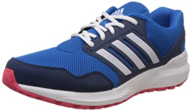 adidas Men's Ozweego Bounce Stability M Blue, White and Red Running Shoes -  12 UK