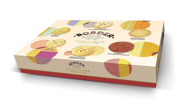 Border Biscuits Classic Recipe Selection, Surtido de galleta ...