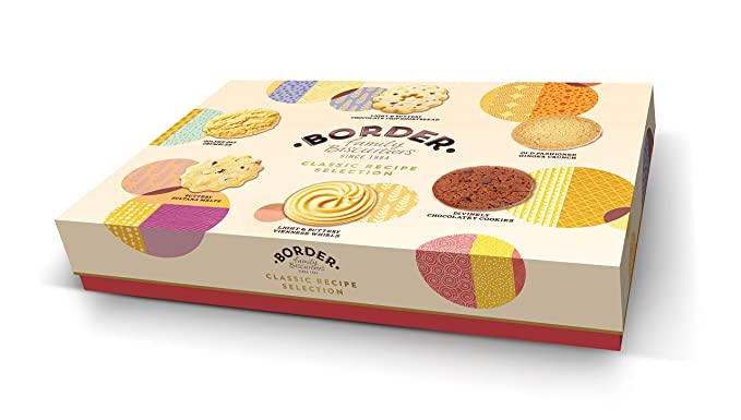 Border Biscuits Classic Recipe Selection, Surtido de galleta fresca - 500 gr.