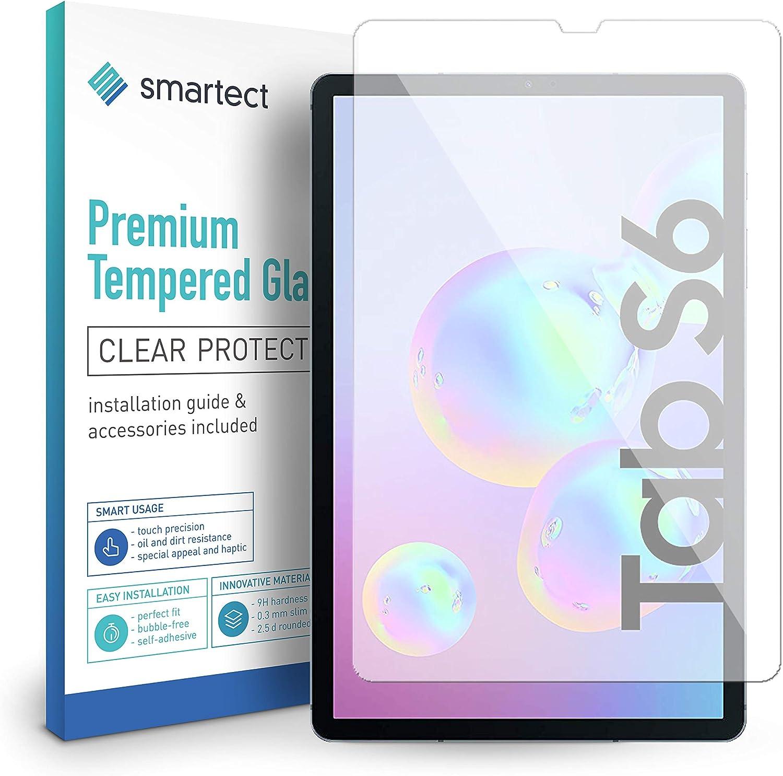 smartect Cristal Templado para Móvil Samsung Galaxy Tab S6: Amazon.es: Electrónica