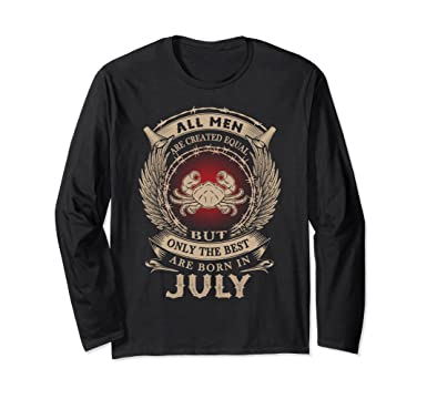 Unisex July Long Sleeve Shirt For Men