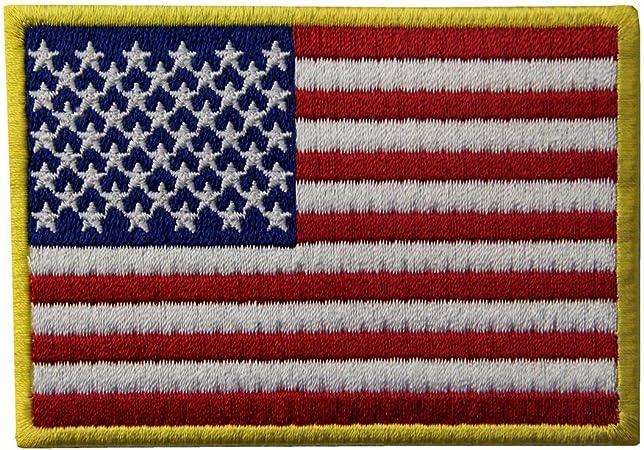 El Hierro Bordado Nacional De Los EEUU De La Bandera Americana Cosió En El Remiendo: Amazon.es: Hogar