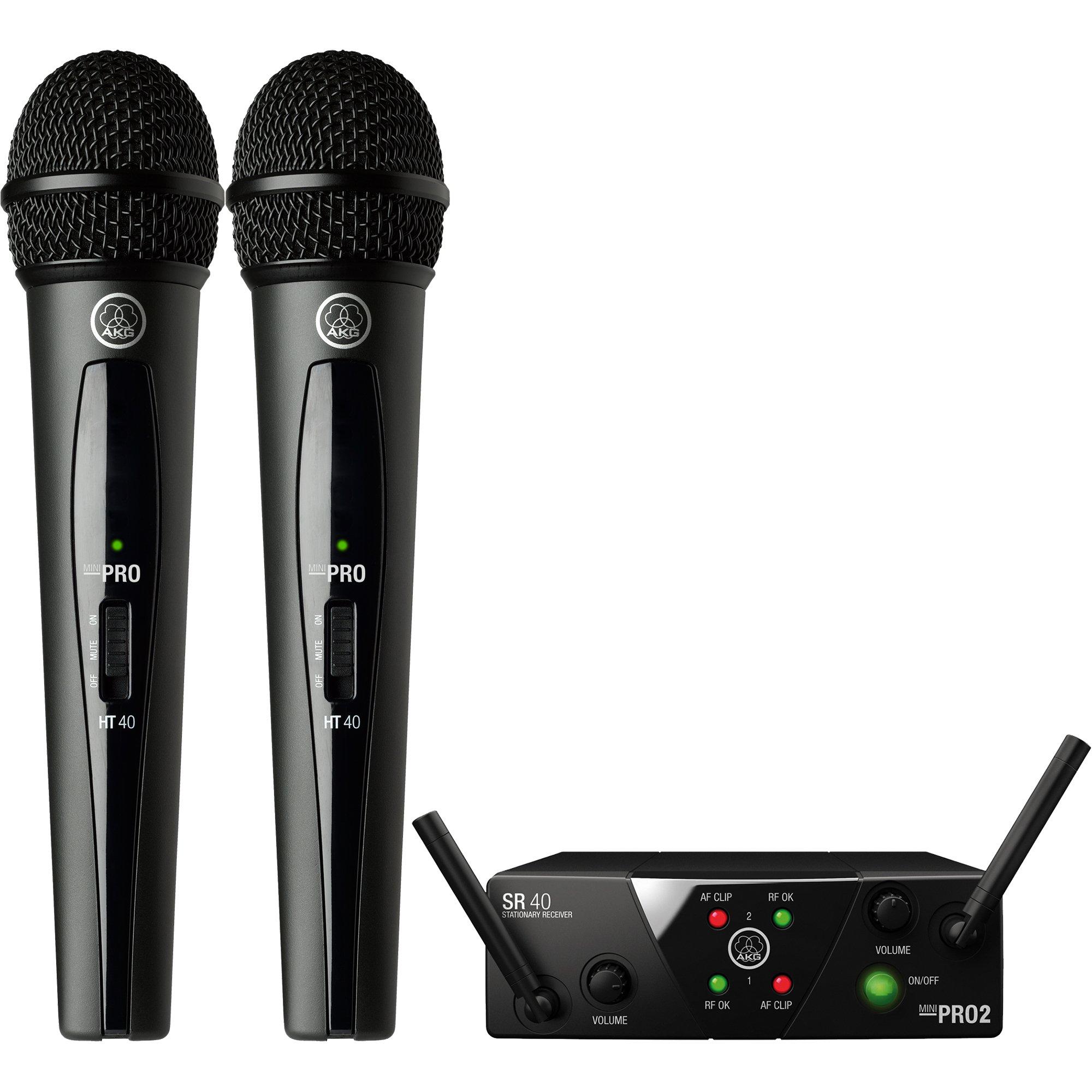 WMS40 MINI2 Dual Handheld Wireless Microphone System US25BD