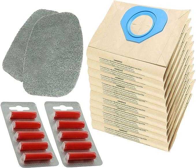 SPARES2GO Pack de 2 filtros y 10 bolsas de recambio para ...