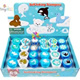 24 Pcs Arctic Animals Stampers for Kids