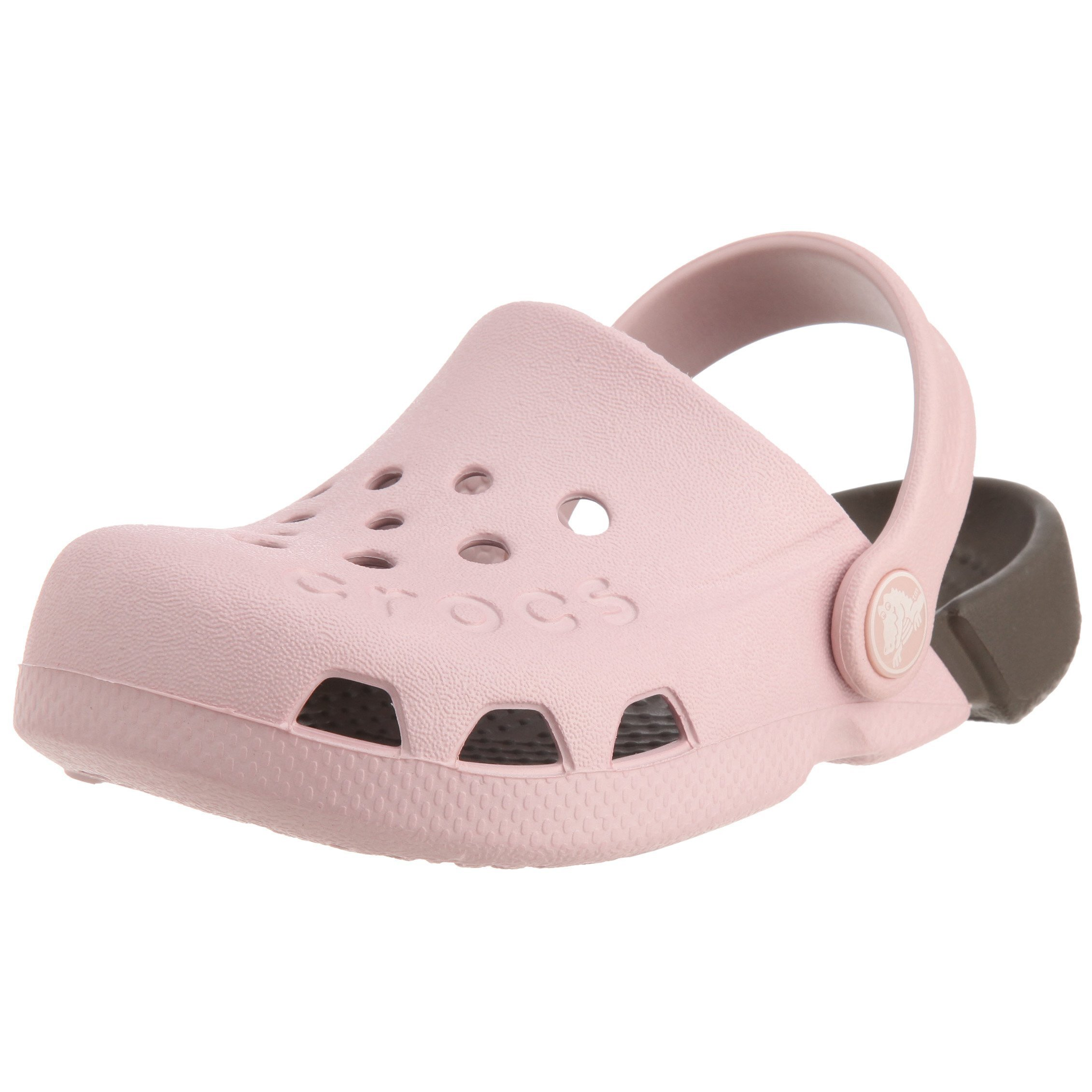 Crocs Electro Clog (Toddler/Little Kid),Cotton Candy/Chocolate,2 M US Little Kid