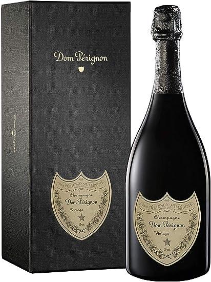 DOM PERIGNON Vintage champagne Estuche botella 75 cl: Amazon.es: Alimentación y bebidas