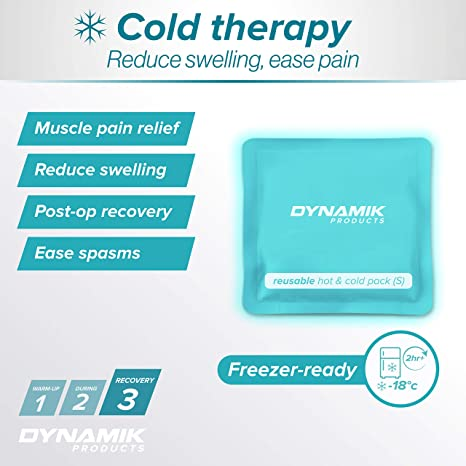 Dynamik Products Premium Hot Cold Pack para aliviar el dolor ...