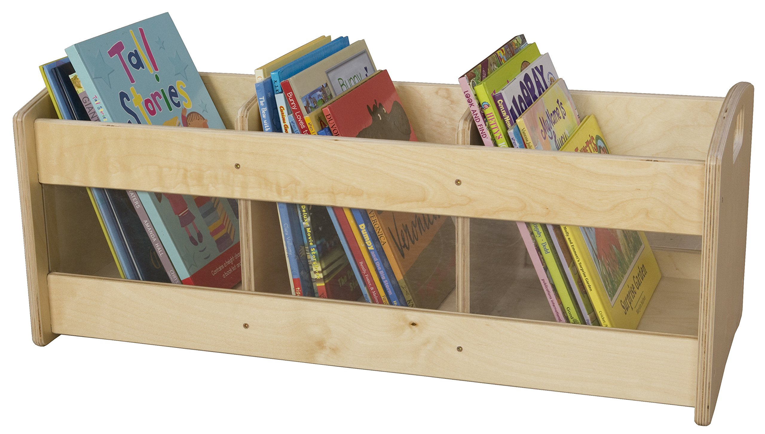 Wood Designs 990644 Toddler Book Brower, 12'' Depth