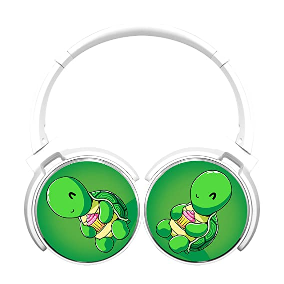 Amazon.com  MagicQ Turtle Holding a Cupcake Bluetooth Headphones 2a2eb6e35d