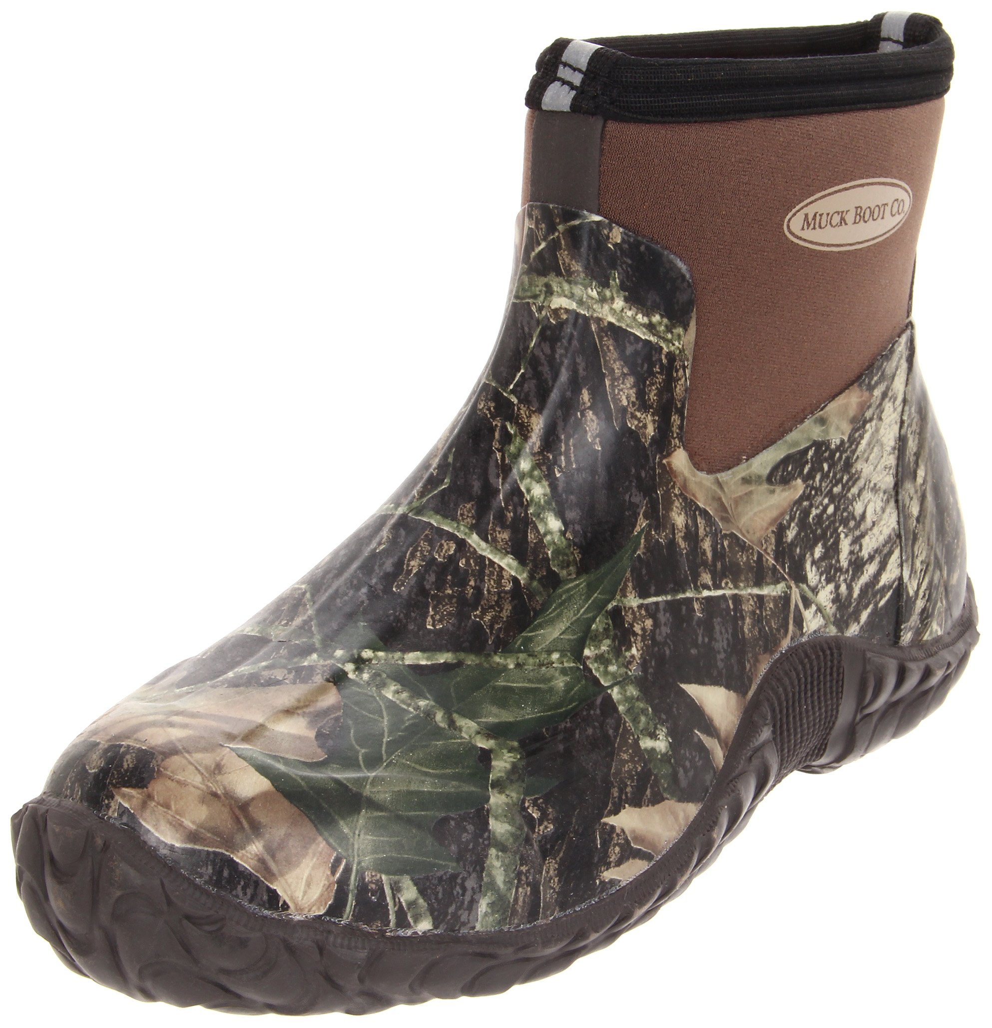 MuckBoots unisex Camo Camp Hunting Boot,Mossy Oak Break-Up,8 M US Mens