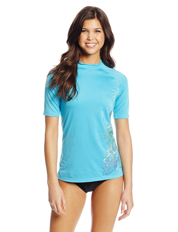 Kanu Surf Women's Oceanside UPF 50+ Rash Guard Kanu Women's Swimwear 1592
