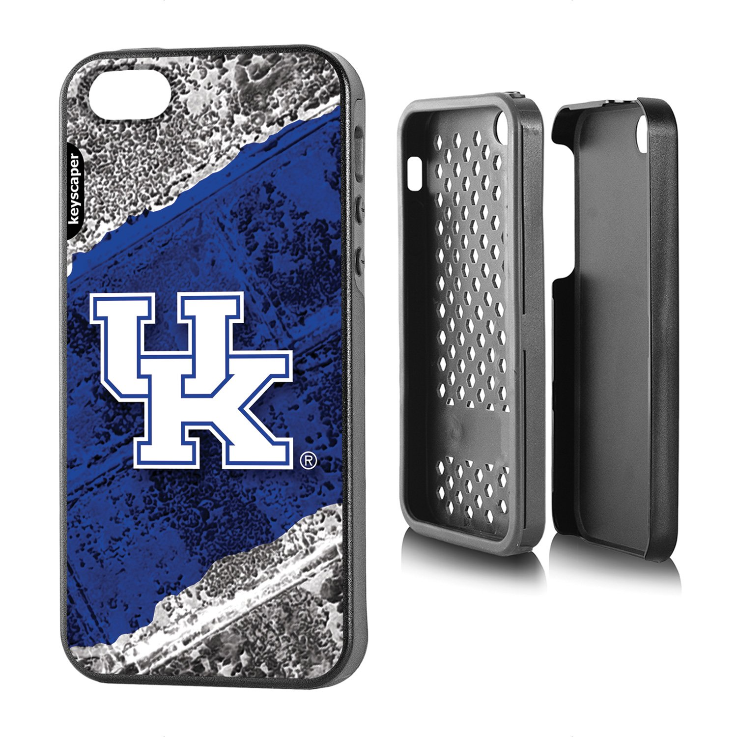 Amazon.com: Alabama Crimson Tide IPhone 5 U0026 IPhone 5s Rugged Case  Officially Licensed By The University Of Alabama For The Apple IPhone 5/5s  By Keyscaper® ...