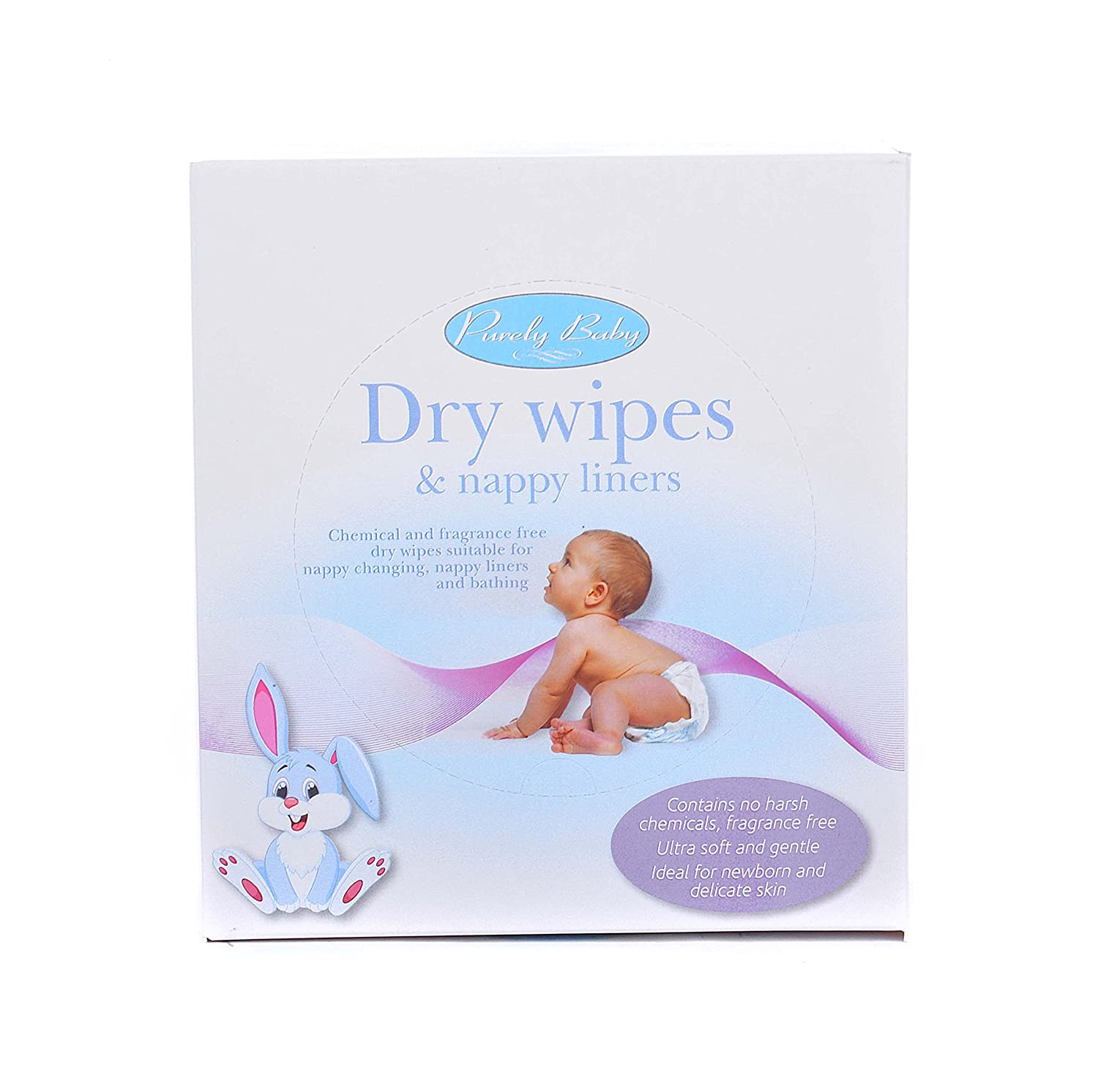 Ability Superstore Baby Dry Wipes and Nappy Liners, Pack of 100 58615-1