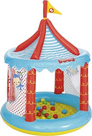 Piscina de Bolas Hinchable Bestway Fisher Price Circo Ø104x137 cm ...
