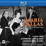 Callas Toujours Paris 1958 / In Concert Hamburg [Blu-ray]