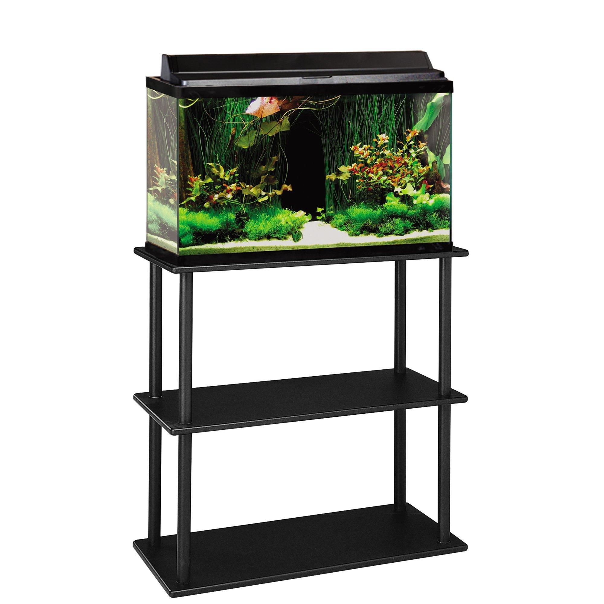 Aquatic Fundamentals 20/29/37 Gallon Aquarium Stand with Shelf