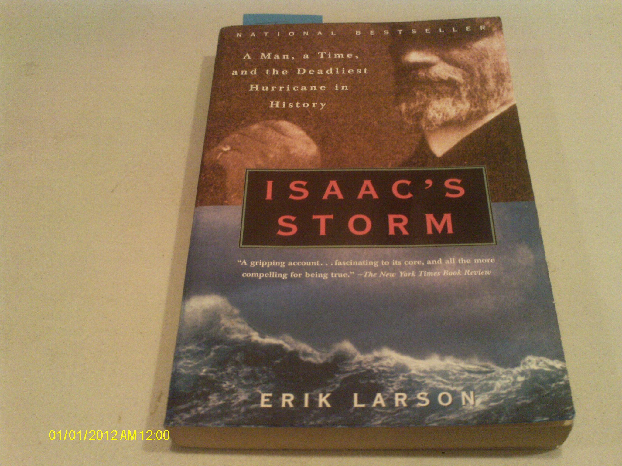 Read Online Isaac's Storm 1st (first) Vintage edition paperback pdf epub