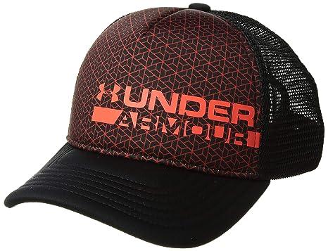 ... amazon under armour boys novelty trucker cap black 001 radio red 92f83  3c9bd 71cbaf60700c
