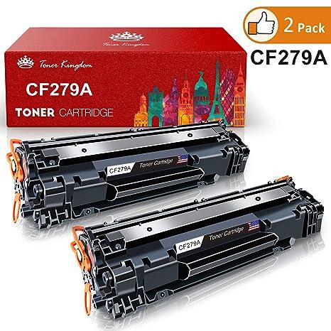 Toner Kingdom 2 Paquete CF279A (79A) / CF 279A Alto Rendimiento Cartucho De Tóner Compatible para HP Laserjet Pro MFP M26 M26nw M26a HP Laserjet Pro ...