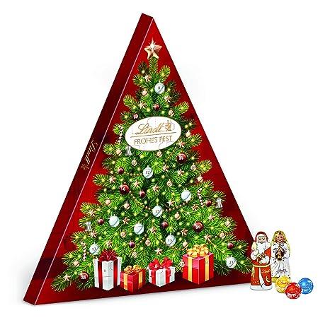 Weihnachtskalender Tannenbaum.Lindt Tannenbaum Adventskalender Groß 1er Pack 1 X 122 G