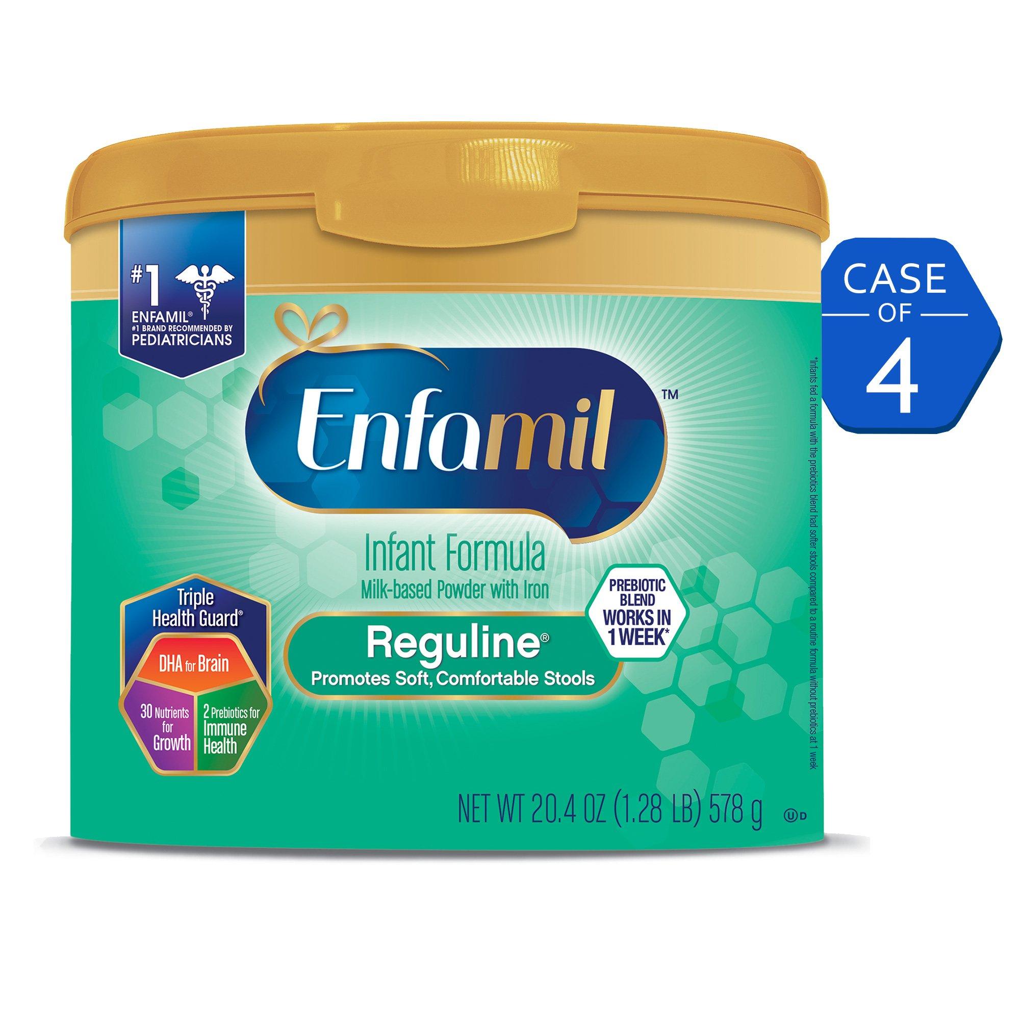 Amazon.com: Enfamil Reguline Infant Formula - Designed for Soft ...