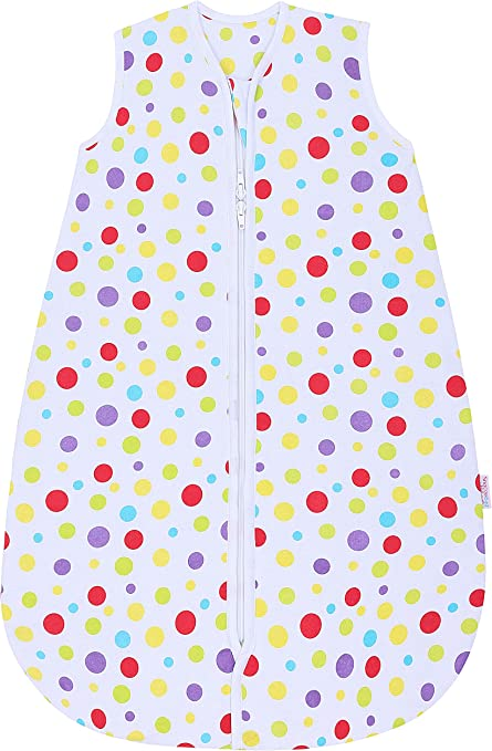 Snoozebag Jungle Fun 100/% Cotton 1.0 Tog Unisex Nursery Baby Sleeping Bag Multicoloured 6-18 Months 95cm