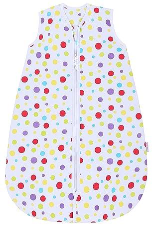 Snoozebag Saco de Dormir Spots para bebé, 100% algodón, Unisex, 2, 5 TOG, Talla: 0-6 Meses: Amazon.es: Ropa y accesorios