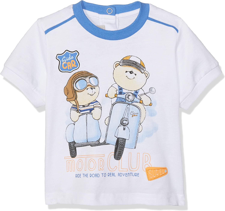 Chicco Baby-Jungen T-Shirt Manica Corta Pullunder