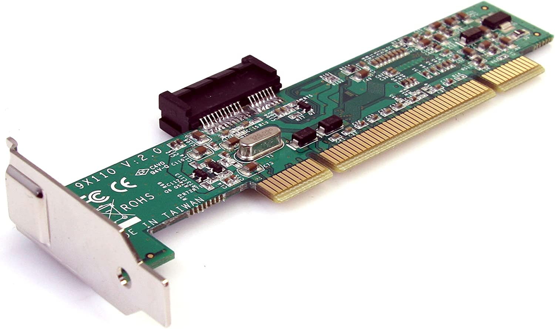 Amazon Com Startech Com Pci To Pci Express Adapter Card Pcie X1 5v To Pci 5v 3 3v Slot Adapter Low Profile Pci1pex1 Electronics
