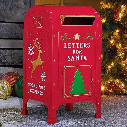 Deko Briefkasten Weihnachten 102cm Weihnachtsdeko